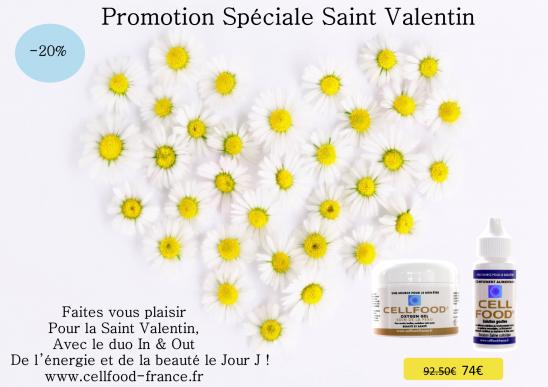 Promo Saint Valentin Cellfood®